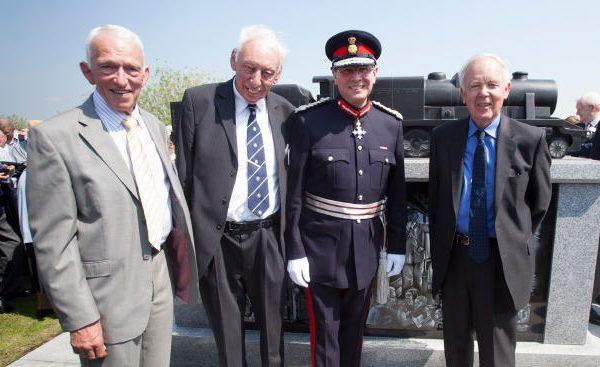 Sam Reed MBE, Maurice Holmes OBE, Ian Dudson CBE and Sir Bob Reid