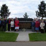 Members at the Memorial