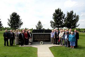 BTPF Members at the Memorial